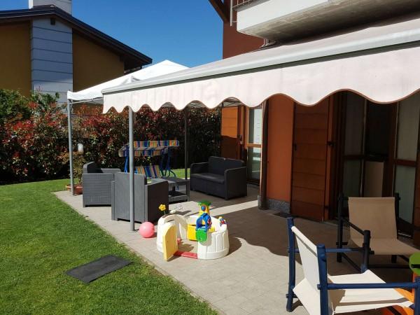 Villa in vendita a Galliate Lombardo, Arredato, con giardino, 126 mq - Foto 54