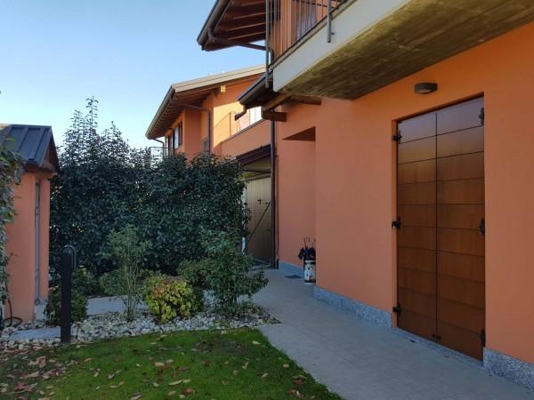 Villa in vendita a Galliate Lombardo, Arredato, con giardino, 126 mq - Foto 52