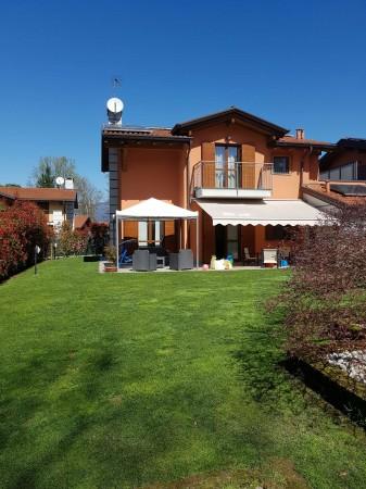 Villa in vendita a Galliate Lombardo, Arredato, con giardino, 126 mq - Foto 42