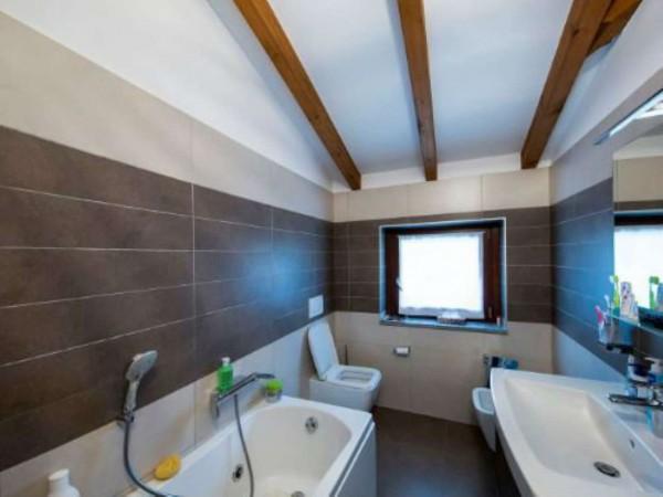 Villa in vendita a Galliate Lombardo, Arredato, con giardino, 126 mq - Foto 17