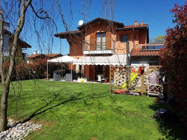 Villa in vendita a Galliate Lombardo, Arredato, con giardino, 126 mq - Foto 65