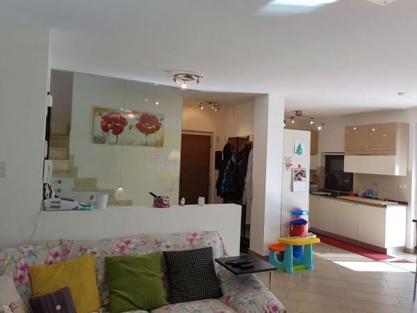 Villa in vendita a Galliate Lombardo, Arredato, con giardino, 126 mq - Foto 71