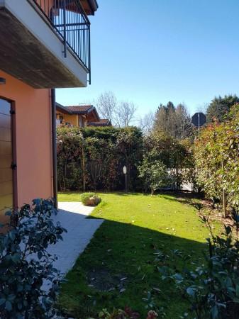 Villa in vendita a Galliate Lombardo, Arredato, con giardino, 126 mq - Foto 43