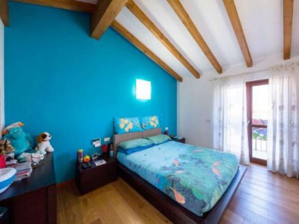 Villa in vendita a Galliate Lombardo, Arredato, con giardino, 126 mq - Foto 23