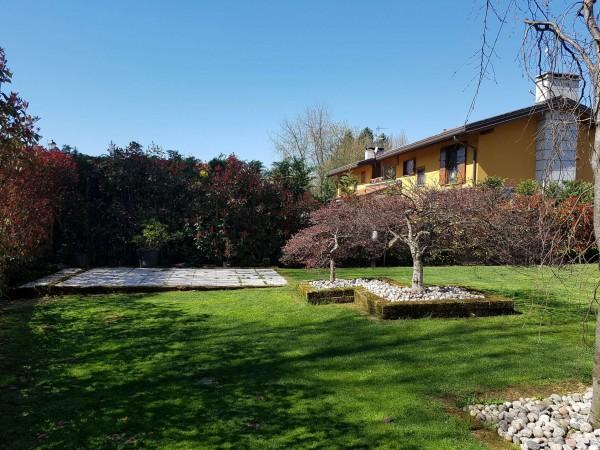 Villa in vendita a Galliate Lombardo, Arredato, con giardino, 126 mq - Foto 40