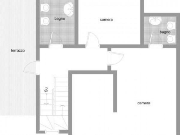 Villa in vendita a Galliate Lombardo, Arredato, con giardino, 126 mq - Foto 4