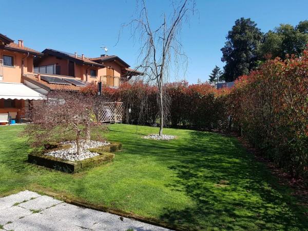 Villa in vendita a Galliate Lombardo, Arredato, con giardino, 126 mq - Foto 41