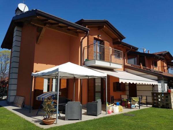 Villa in vendita a Galliate Lombardo, Arredato, con giardino, 126 mq - Foto 75