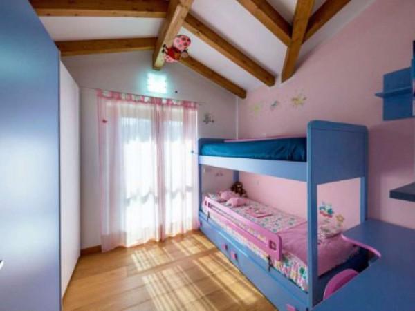 Villa in vendita a Galliate Lombardo, Arredato, con giardino, 126 mq - Foto 13