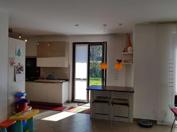 Villa in vendita a Galliate Lombardo, Arredato, con giardino, 126 mq - Foto 68