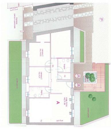 Appartamento in vendita a Alpignano, Centro, Con giardino, 114 mq - Foto 3