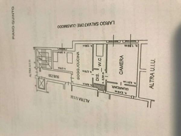 Appartamento in vendita a Bollate, Arredato, 65 mq - Foto 2