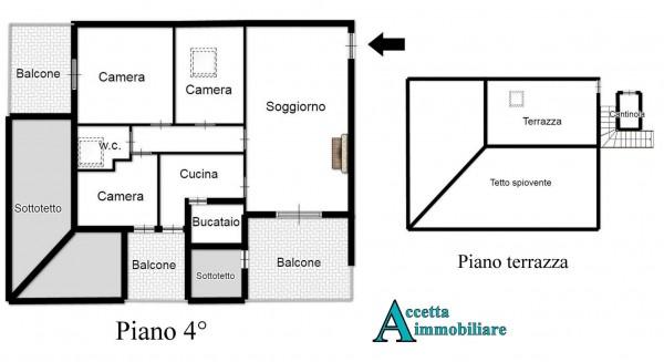 Appartamento in vendita a Taranto, Residenziale, 91 mq - Foto 2