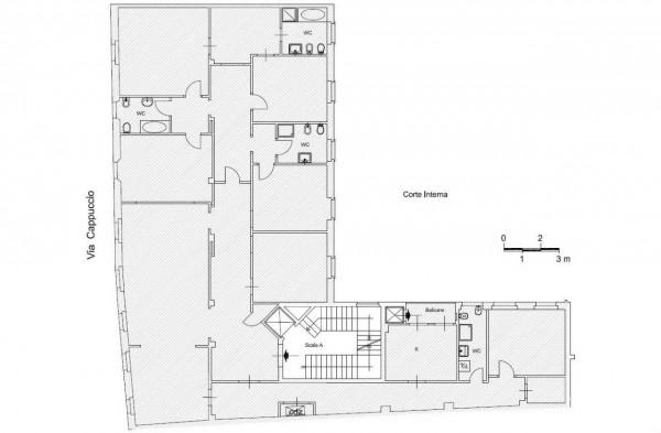 Appartamento in affitto a Milano, Cattolica, Con giardino, 320 mq - Foto 2