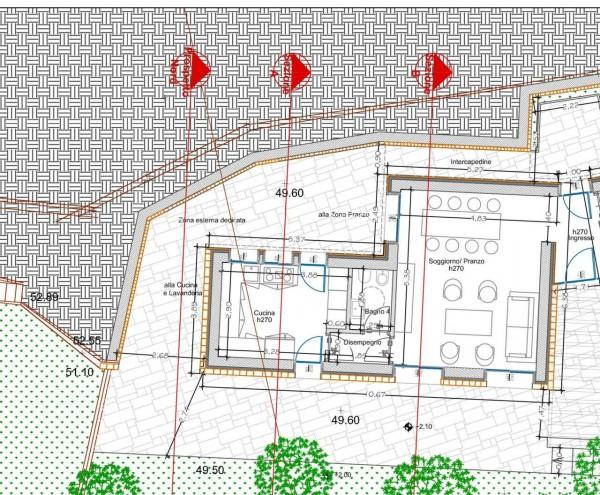 Villa in vendita a Zoagli, Zoagli, Con giardino, 55 mq - Foto 21