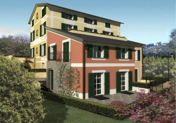 Appartamento in vendita a Santa Margherita Ligure, Via Pastine, 117 mq