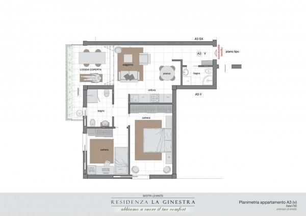 Appartamento in vendita a Sestri Levante, San Bartolomeo, Con giardino, 65 mq - Foto 24