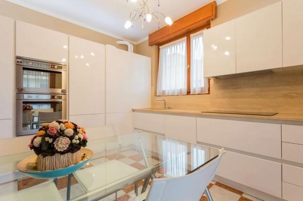 Appartamento in vendita a Cinisello Balsamo, Centro, Arredato, con giardino, 130 mq - Foto 24