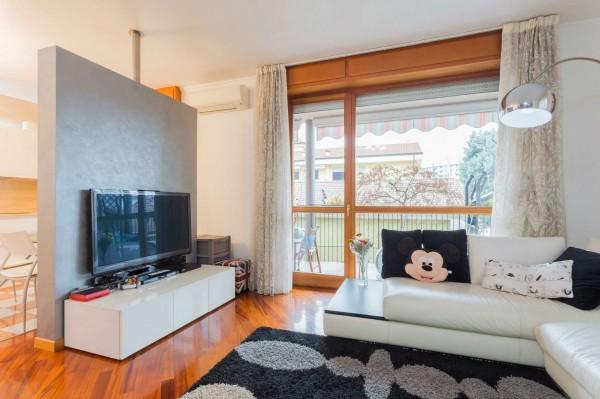 Appartamento in vendita a Cinisello Balsamo, Centro, Arredato, con giardino, 130 mq