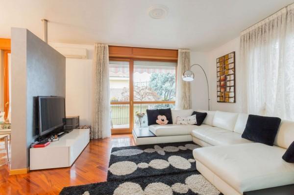 Appartamento in vendita a Cinisello Balsamo, Centro, Arredato, con giardino, 130 mq - Foto 30