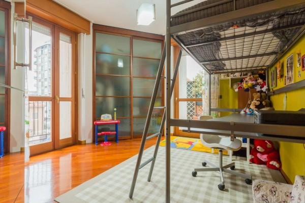 Appartamento in vendita a Cinisello Balsamo, Centro, Arredato, con giardino, 130 mq - Foto 8