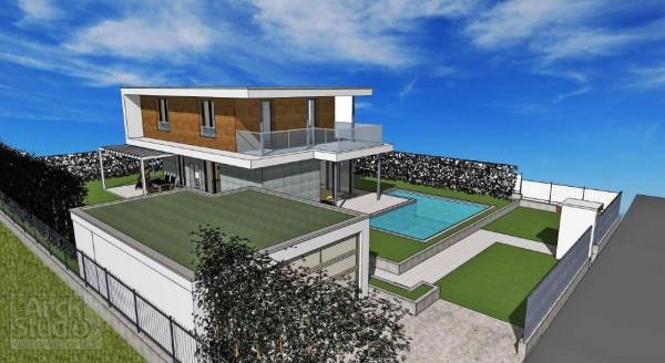 Villa in vendita a Inzago, Naviglio, Con giardino, 185 mq - Foto 22