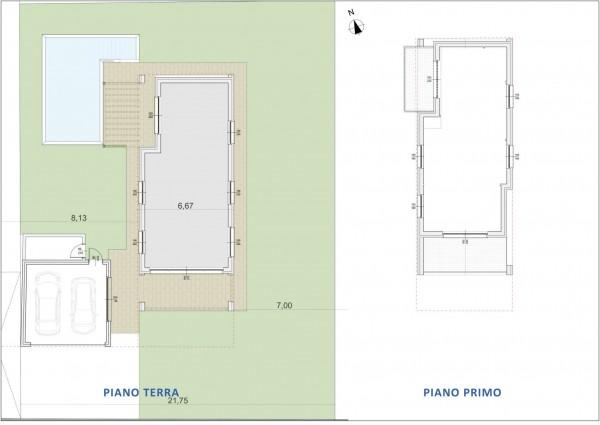 Villa in vendita a Inzago, Naviglio, Con giardino, 185 mq - Foto 2
