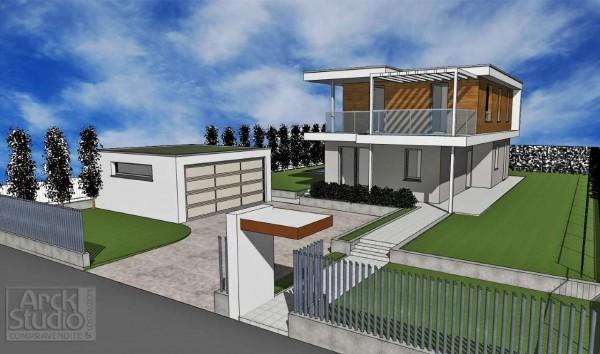 Villa in vendita a Inzago, Naviglio, Con giardino, 185 mq - Foto 23
