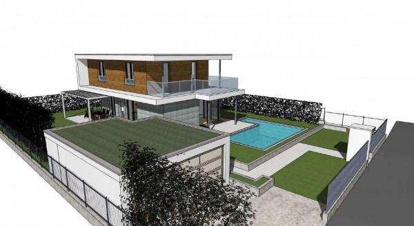 Villa in vendita a Inzago, Naviglio, Con giardino, 185 mq - Foto 14