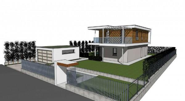 Villa in vendita a Inzago, Naviglio, Con giardino, 185 mq - Foto 15