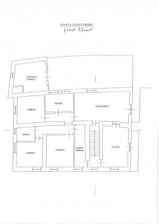 Casa indipendente in vendita a Clavesana, Zona Castello, Con giardino, 200 mq - Foto 3