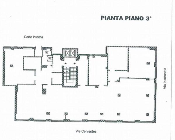 Ufficio in affitto a Napoli, 450 mq