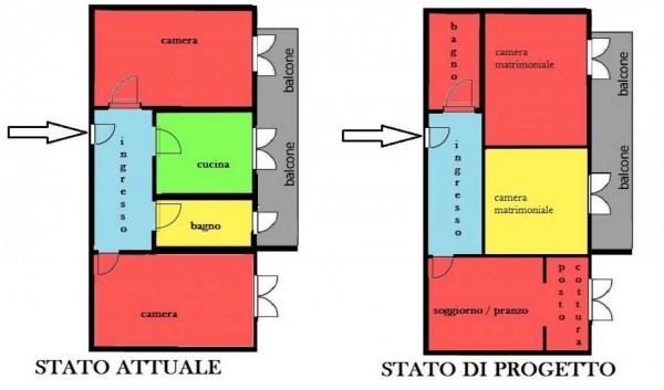 Appartamento in vendita a Genova, Sestri Ponente, Con giardino, 75 mq - Foto 1