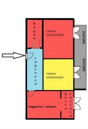 Appartamento in vendita a Genova, Sestri Ponente, Con giardino, 75 mq - Foto 19