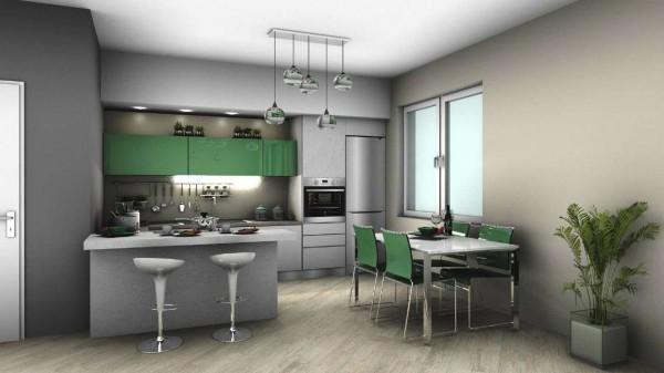 Appartamento in vendita a Venaria Reale, Con giardino, 75 mq - Foto 5