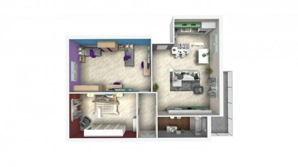 Appartamento in vendita a Venaria Reale, Con giardino, 75 mq - Foto 2