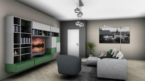 Appartamento in vendita a Venaria Reale, Con giardino, 75 mq - Foto 4