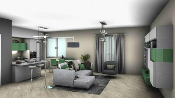 Appartamento in vendita a Venaria Reale, Con giardino, 75 mq - Foto 1
