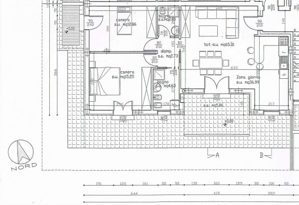 Appartamento in vendita a Selvazzano Dentro, Selvazzano, Con giardino, 85 mq - Foto 2