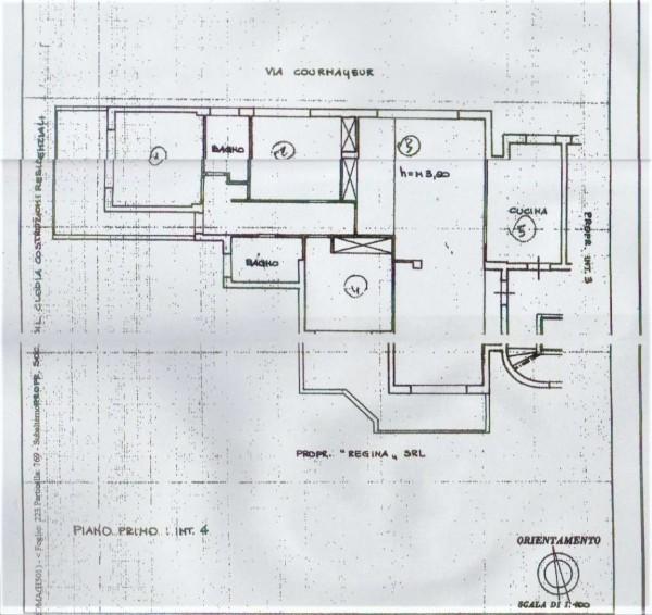 Appartamento in vendita a Roma, Cortina D'ampezzo, 142 mq - Foto 2