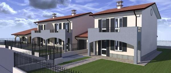 Villa in vendita a Dovera, Residenziale, Con giardino, 155 mq