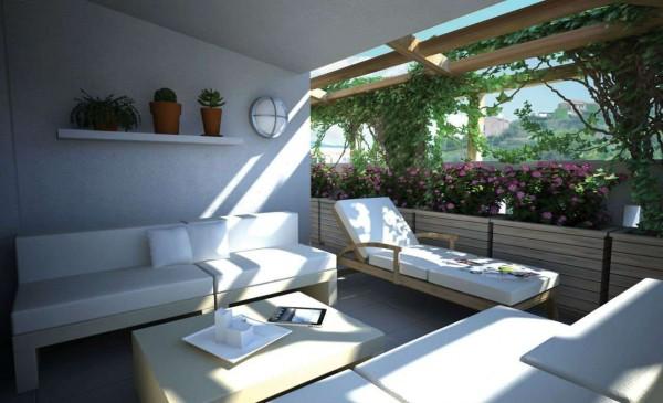 Villa in vendita a Chiavari, Maxena, Con giardino, 110 mq