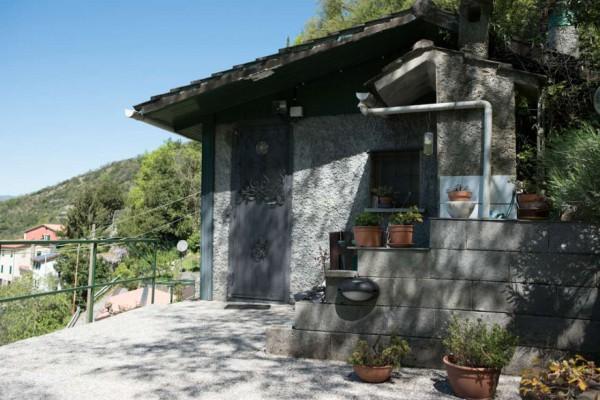 Villa in vendita a Avegno, Vescina, Con giardino, 120 mq