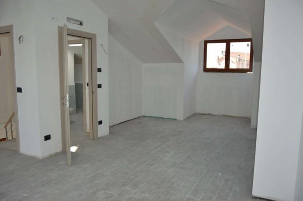 Appartamento in vendita a Pino Torinese, Con giardino, 157 mq - Foto 18
