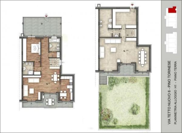 Appartamento in vendita a Pino Torinese, 190 mq - Foto 89