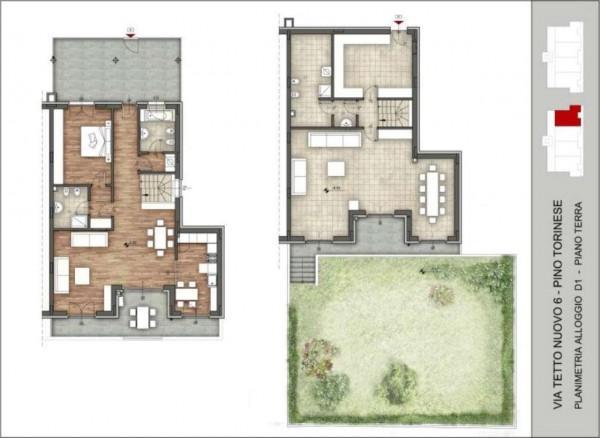 Appartamento in vendita a Pino Torinese, 190 mq - Foto 91