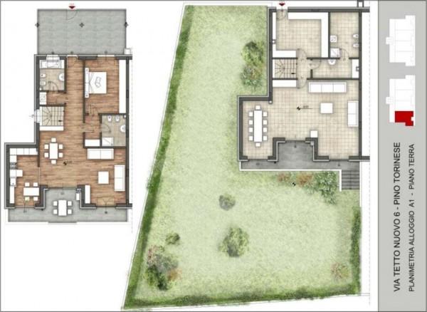 Appartamento in vendita a Pino Torinese, 190 mq - Foto 92