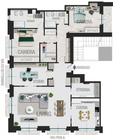 Appartamento in vendita a Torino, 165 mq - Foto 2