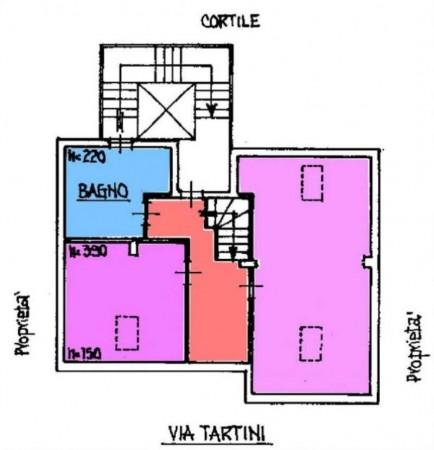 Appartamento in vendita a Torino, Con giardino, 190 mq - Foto 2