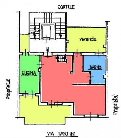 Appartamento in vendita a Torino, Con giardino, 190 mq - Foto 3